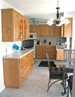 refaced kitchen